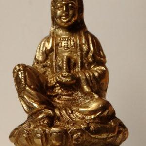 Bouddha style tibet doré